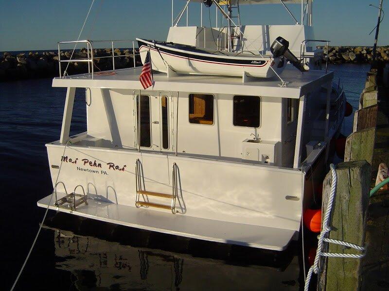 Large Boat - Rear