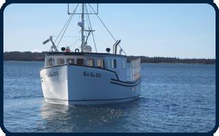 Boat in Ocean - Atlantic