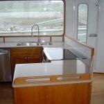 Kitchen Area on Boat