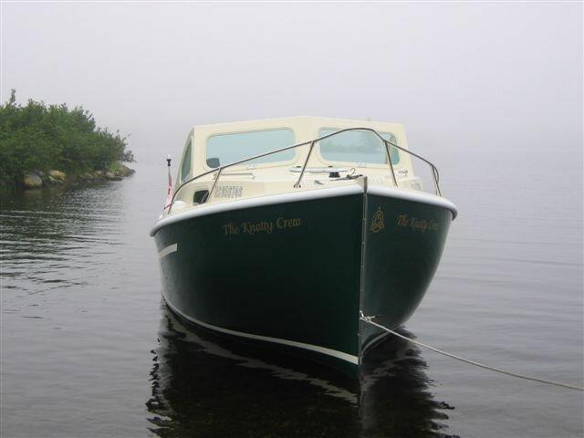 Medium Boat in Water
