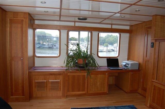 Wooden Boat Interior